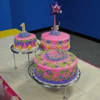 Kinsley Birthday Cake Princess Birthday Cake