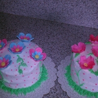 For Mom And Mom-In-Law   Flower Mothers day cakes