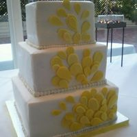 Tear Drop Wedding Cake