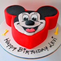 "Levis 1St Birthday Cake I Had The Pleasure Of Making Another Cake For Levi I Also Made His Naming Day Cake Last Year 6 Round Whit Levi's 1st Birthday Cake. I had the pleasure of making another cake for Levi - I also made his naming day cake last year. 6""..."
