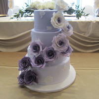 Purple Ombre Wedding Cake Based Off A Cake By Cupcakes Couture Purple Ombre Wedding Cake. Based off a cake by Cupcakes Couture