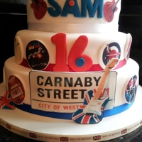 Mod Themed 16Th Birthday Based on Paul Weller, Ocean Colour Scene, Carnaby Street.