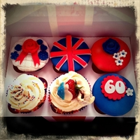 The Queen's Jubilee Cupcakes