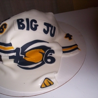 Nashville Storms I DECIDED TO TRY MAKING A FOOTBALL CAKE WITH TEXTURE. I USED A LIGHTING FIXTURE COVERING, PURCHASED AT A LOCAL HARDWARD STORE. IT TURNED...