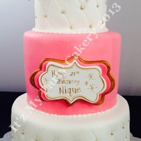 Tufted Birthday Cake