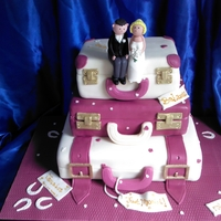 Suitcase Wedding Cake Suitcase Wedding Cake