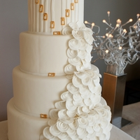 Versace Inspired Wedding Cake