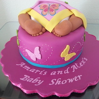Butterfly Baby But Cake