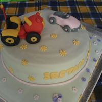 Tractor Tom & Car
