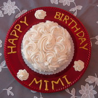 Birthday Cake - 1M Tip
