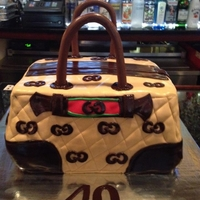 Gucci Purse Cake Gucci