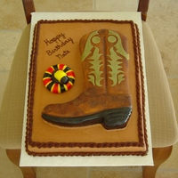 My Second Boot Cake