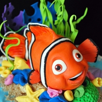 Nemo Birthday Cake:)