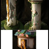 Tangled Tower Theme Cake: Guide Included