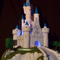 My First Time With Lights! Had Great Fun With This Castle! My first time with lights! Had great fun with this castle!
