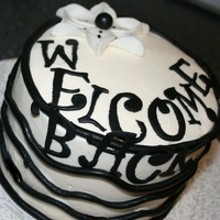 Welcome Back Cake