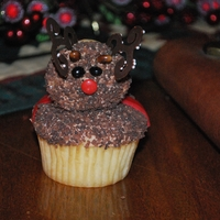 Reindeer Cupcakes   Design from the Hello Cupcake book