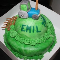 Tractor Cake tractor cake for emil