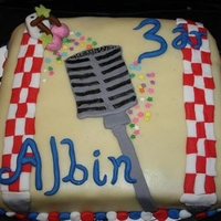 Rockabilly Cake   rockabilly cake for my froends kid albin