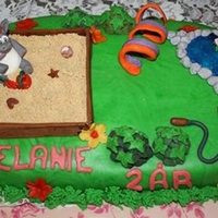 Timmy The Lamb Playground   timmy the lamb playground cake