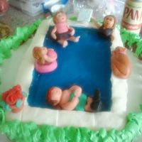 Pool Cake With Jello
