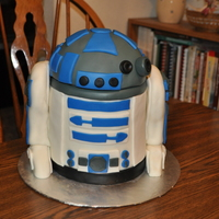 R2D2 R2D2 for my son's 7th Birthday