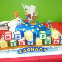 Toy Story Cake   This was for my son's 5th Birthday. It was a huge hit :)