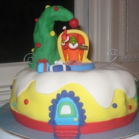 How The Grinch Stole Christmas Cake Dr. Seuss Grinch Cake