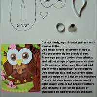 Owl Pattern & Directions