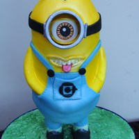 Minion Birthday Cake Minion Birthday Cake
