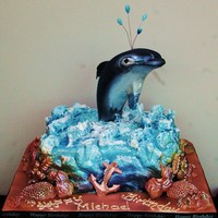 "Free Willy Themed Birthday Cake ""Free Willy"" Themed Birthday Cake"