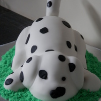 My Daughters 4Th Birthday Cake Based On Her Favourite Spotty Dog   My daughters 4th birthday cake based on her favourite 'Spotty Dog'!