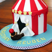 Circus Cake With Performing Seal