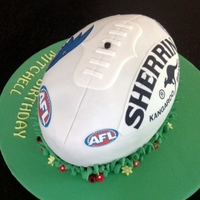 Afl Sherrin Football Cake