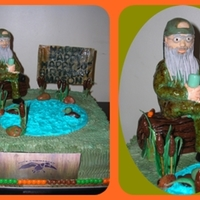 Duck Dynasty Uncle Si Cake Duck Dynasty Uncle Si cake