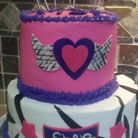 Shae's Rock Star Birthday Cake