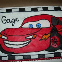 Cars Themed Sheet Birthday Cake Cars Themed Sheet Birthday Cake