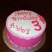 Pink Sprinkles For a complex little girl who nly wanted a pink sprinkled cake