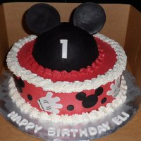 Mickey Mouse Ears Located in Kinston NC ....... Cakes by Jana specializes in fresh, made to order cakes for weddings, birthdays, bridal showers, baby showers...