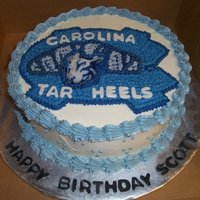 Perfect Cake For The Unc Tar Heels Fan!!  Located in Kinston NC ....... Cakes by Jana specializes in fresh, made to order cakes for weddings, birthdays, bridal showers, baby showers...