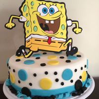 Spongebob Birthday Cake Spongebob Birthday Cake :)
