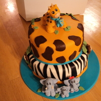 Safari All fondant.