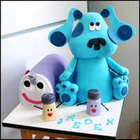 Blues Clues Mail Time Cake