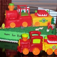 My Favorite Toy   His mom asked me to make the cake look like his favorite toy.