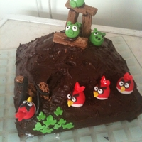 Angry Birds Cake Contest