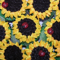 Sunflower Cupcakes Sunflower Cupcakes, just for fun.