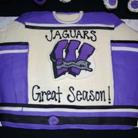 Hockey Jersey purple hockey jersey