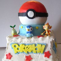 Pokemon pokemon cake