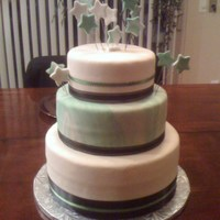 A New Years Wedding Cake My first wedding cake! Made for a good friend of mine for his wedding on New Years eve. Everything went so smoothly with this cake, and...