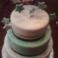 A New Years Wedding Cake